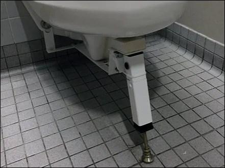 Heavy-Load Toilet Kick Stand 2