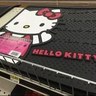 Hello Kitty Boot Mat Main