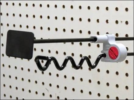 Locking Anti-Sweep Hook Hybrid