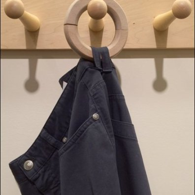 Jeans Pegged on Wood Loops Main'