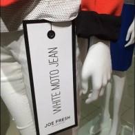 Joe Fresh Hang Tag Main