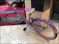 Lilly Pulitzer Bike Cancer Awareness 3