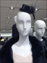 Mannequin New Year Top Hat Cosplay
