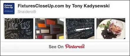 Snaidero® FixturesCloseUp Pinterest Board