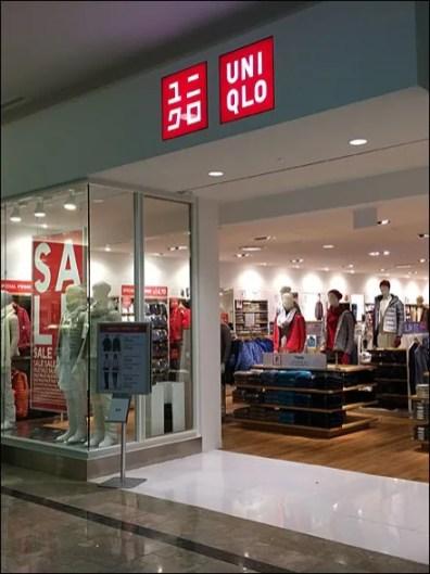 UNIQLO Store Entry Branding