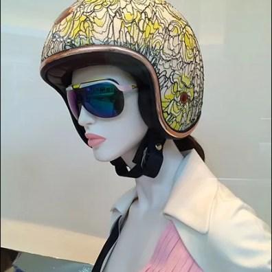 Dior Vespa Scooter Helmets Main