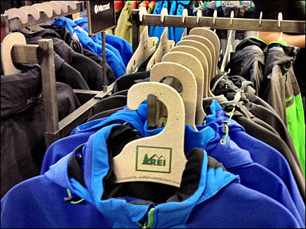 REI Clothes Hangers Re-Imagined - Ditto Clothes Hangers REI Logo Main