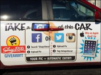 ShopRite Mobile Car Campaign Advertising