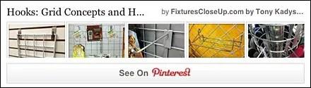 Grid Hooks and Concepts Pinterest Board on FixturesCloseUp