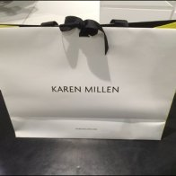 Karen Millen Ribboned Bag Branding