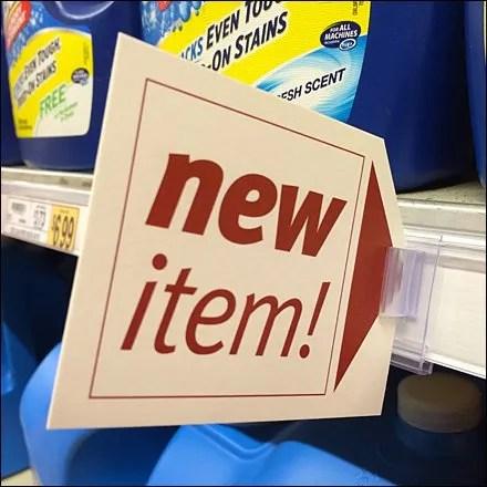 New-Item Clip-In Promo Flag