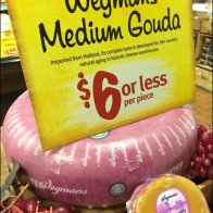 Wegman's Gouda Cheese Wheels 3
