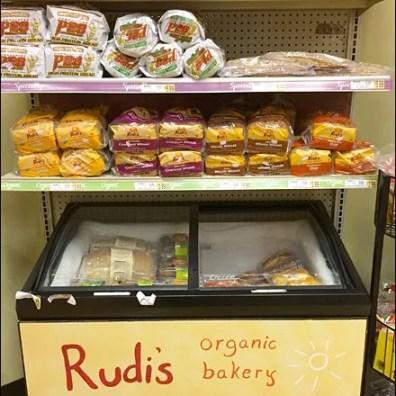 Wegman's Rudi's Organic Bakery Freezer Aux