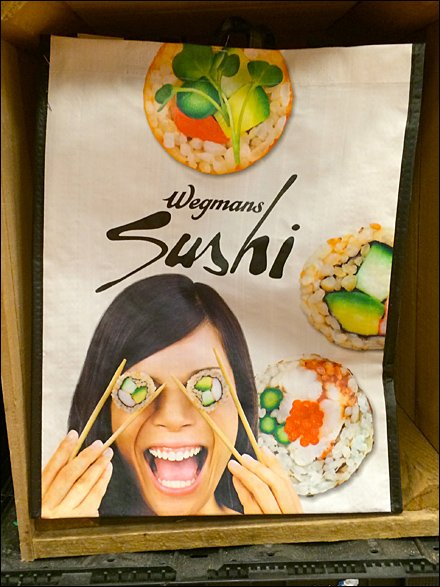 Sushi Bags Branded by Wegman