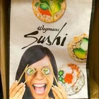 Wegman's Sushi Bag Branding Closeup