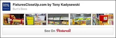 Burt's Bees® FixturesCloseUp Pinterest Board