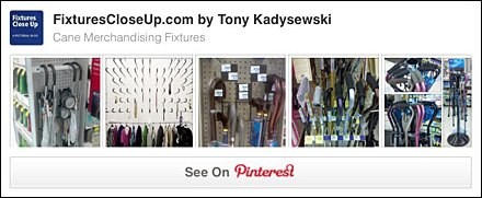 Cane Merchandising Fixtures Pinterest Board