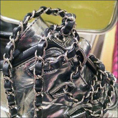 Chanel Shoe in Chains 2