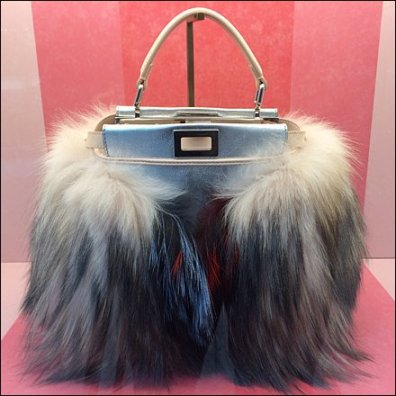 Fendi Fuzzy Purse Pets 3