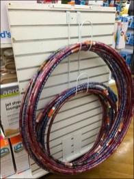 Hula Hoop Hook for Endcap Display