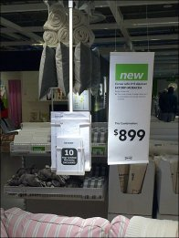 IKEA Ceiling Hung Literature Holder 2