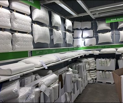 IKEA Clothes Pinned Pillows Overall