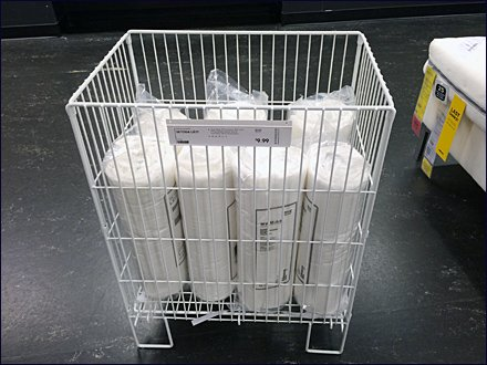 IKEA Floor Stand Mattress Protector Bin 1