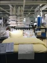 IKEA Overhead Pillows in Bedroom 1