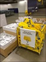 IKEA Please Leave Yellow Bag Here Bag Return Aux