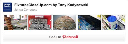 Jenga and Jenga-Like Concepts Pinterest Board
