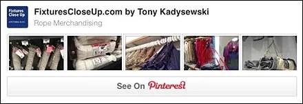 Rope Merchandising Pinterest Board