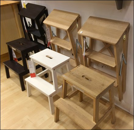 IKEA Step-Stool Staging