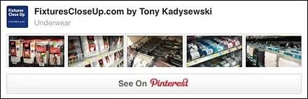 Underwear Pinterest Board