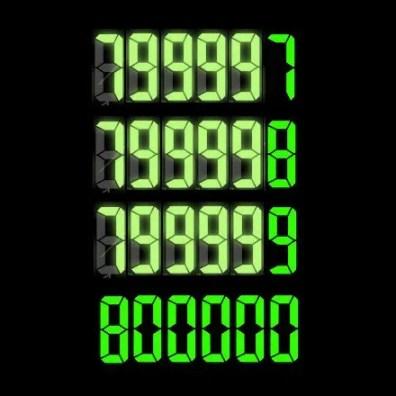 800,000 Digital Countdown 2