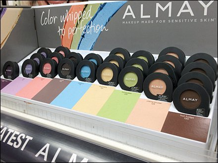 Almay Color Coded Display 2