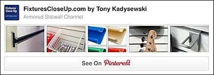 Armored Slatwall Channel FixturesCloseUp Pinterest Board