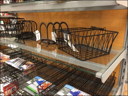 Brace Supported Glass Shelf 1