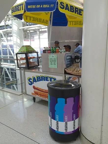 Circular Color-Coded VitaminWater Cooler