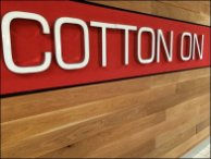 Cotton On Store Entry Branding 3
