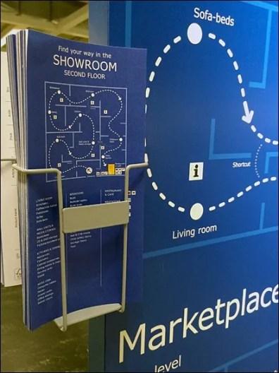 IKEA In-Store Wayfaring Map