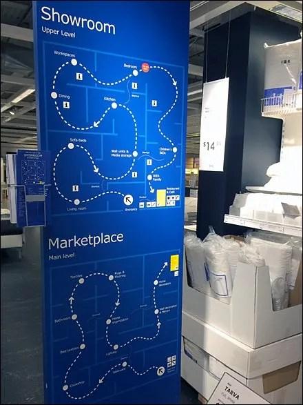 IKEA Wayfaring Map Shows The Way