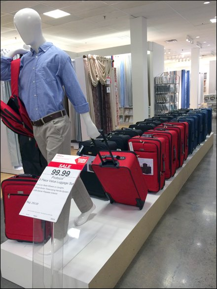 JCPenney Luggage Flight Line