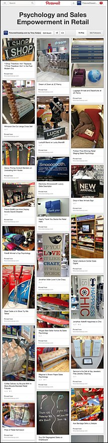 Psychology and Sales Empowerment in Retail on Pinterest