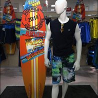 Summer Surfboard in Corrugated Overall