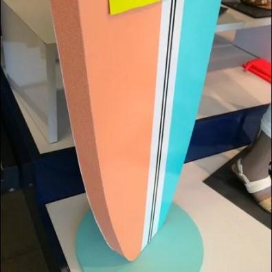 Surfing Styrofoam at Old Navy Detail