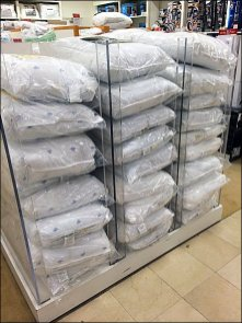Acrylic PIllow Stacker Overall