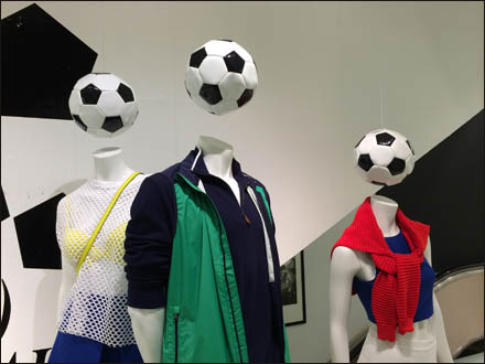 Soccer Style at Bloomingdales Scores
