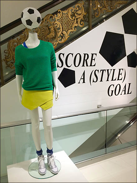 Best Soccer Merchandising for World Cup Play - Bloomingdale's Soccer Score Style Goal