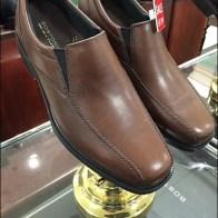 Bostonian Shoe Pedestal in Brass Aux