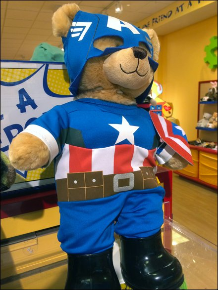 Build-a-Bear Captain America Main